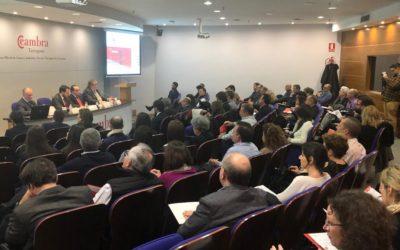 Gran acogida al acto de presentación de ETL GLOBAL ADD en la provincia de Tarragona .